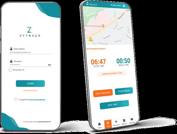 Dinnova - Zeiterfassungs-App